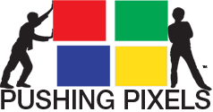 Pushing Pixels Logo